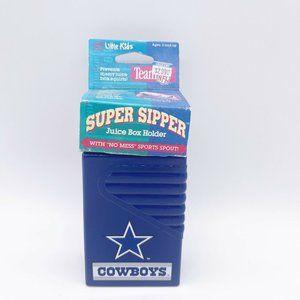 VTG NFL 1990s Dallas Cowboys Juice Box Holder